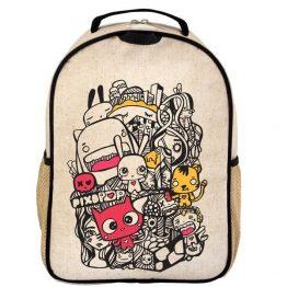 SoYoung Eco Linen Toddler Backpack Pixopop Pishi