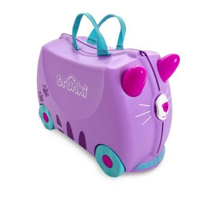 Trunki Kids Ride On Suitcase Cassie Cat