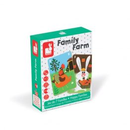 Janod Family Farm Card Game