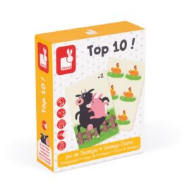 Janod Top 10! Card Game