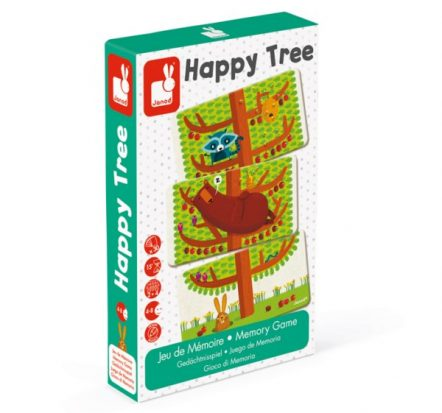 Janod Happy Tree Card Game