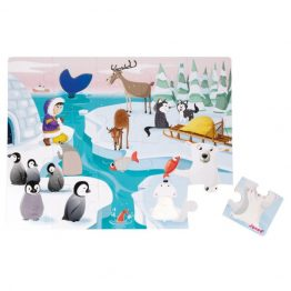 Janod Tactile Ice Jigsaw Puzzle