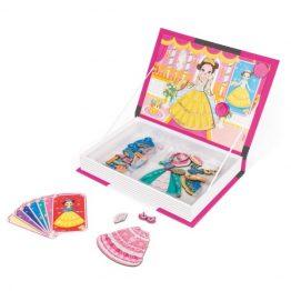 Janod Princess Magnetic Book