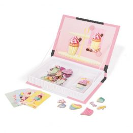 Janod Cupcakes Magnetic Book