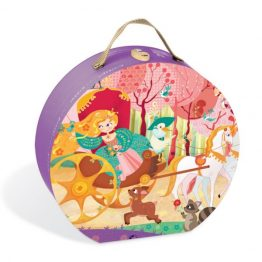 Janod Princess & The Coach Suitcase Puzzle