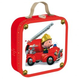 Janod Leons Truck Suitcase Puzzle