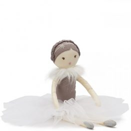 Nana Huchy Miss Posey White Ballerina Rag Doll
