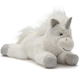 Nana Huchy Silver Sprinkles White Unicorn Soft Toy