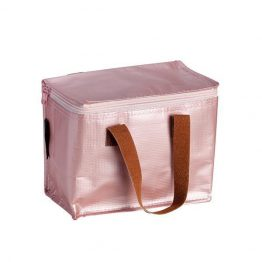 Kollab Lunch Tote Bag Rose Gold