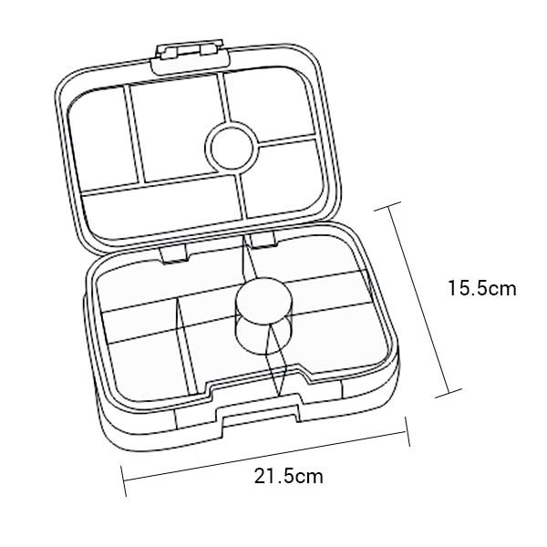bento yumbox original leakproof lunch box kawaii pink kids bags. Black Bedroom Furniture Sets. Home Design Ideas