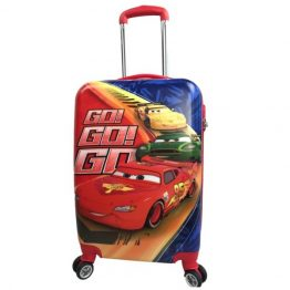 "Cars Go Go Go Hard Shell 20"" Suitcase"