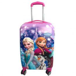 "Disney Frozen Elsa & Anna Hard Shell 20"" Suitcase"