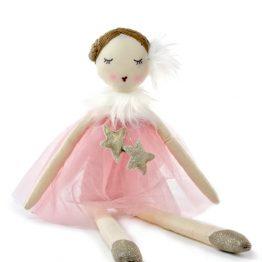 Nana Huchy Star Dust Pink Ballerina Rag Doll
