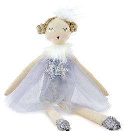 Nana Huchy Twinkles Silver Ballerina Rag Doll