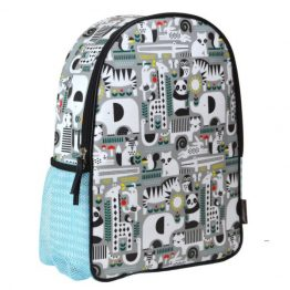 Petit Collage Animals Toddler Backpack