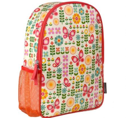 Petit Collage Butterflies Toddler Backpack