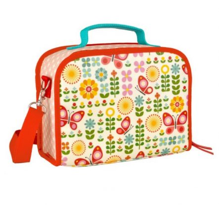 Petit Collage Eco Friendly Butterflies Lunch Box