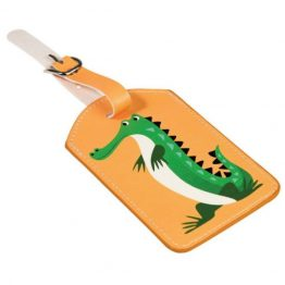 Rex London Luggage Bag Tag Crocodile