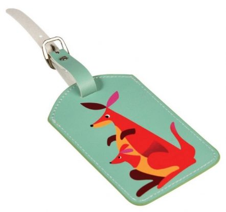 Rex London Luggage Bag Tag Kangaroo