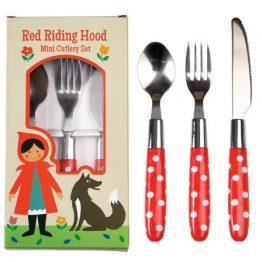 Rex London Childrens Cutlery Set Red Riding Hood