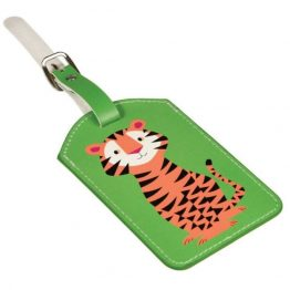Rex London Luggage Bag Tag Tiger
