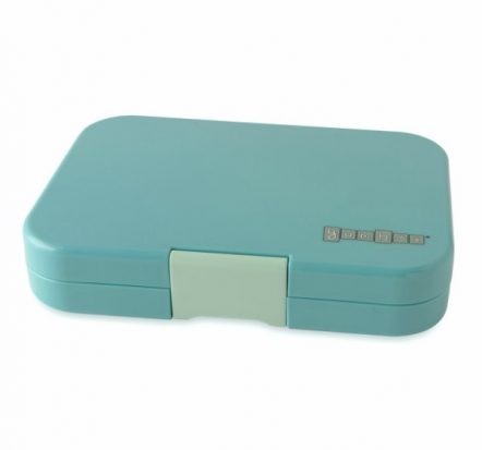 Bento Yumbox Tapas 5 Compartment Leakproof Lunch Box Antibes Blue