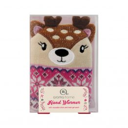 Aroma Home Single Knitted Deer Hand Warmer