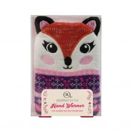 Aroma Home Single Knitted Fox Hand Warmer