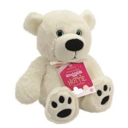 Aroma Home Polar Bear Snuggable Hottie