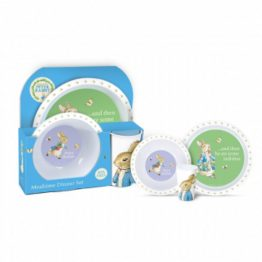 Beatrix Potter Peter Rabbit 3 Piece Dinner Set