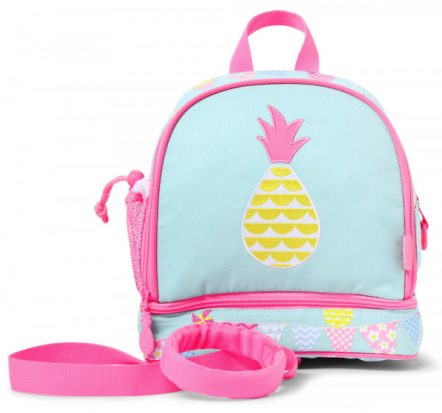 Penny Scallan Pineapple Bunting Junior Mini Backpack with Rein