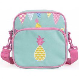 Penny Scallan Pineapple Bunting Junior Messenger Bag