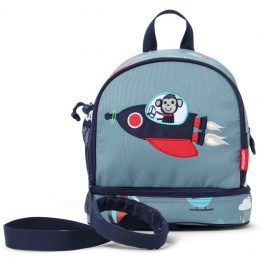 Penny Scallan Space Monkey Junior Mini Backpack with Rein