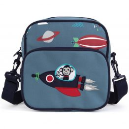 Penny Scallan Space Monkey Junior Messenger Bag