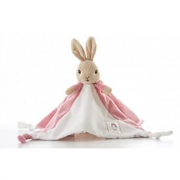 Beatrix Potter Peter Rabbit Flopsy Bunny My First Comfort Blanket
