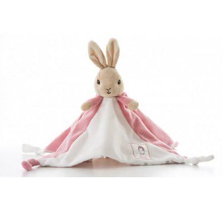 Beatrix Potter Peter Rabbit Flopsy Bunny My First Comfort Blanket