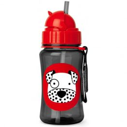 Skip Hop Dalmatian Drink Bottle with Straw