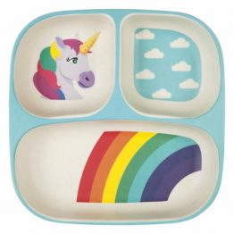 Sunnylife Wonderland Eco Kids Divided Plate