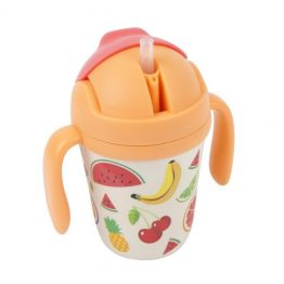 Sunnylife Fruit Salad Eco Kids Sippy Cup