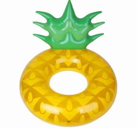 Sunnylife Large Pineapple Pool Ring