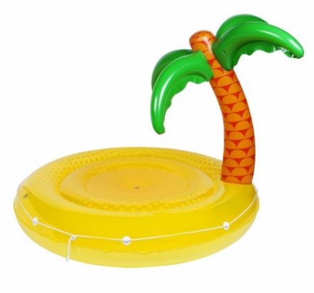 Sunnylife Large Tropical Island Luxe Twin Round Float
