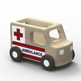 Moover Mini Wooden Ambulance