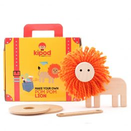 Kipod Pom Pom Lion Craft Kit