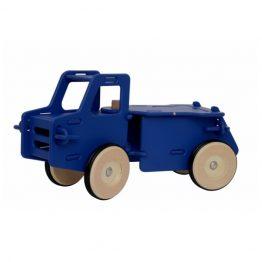 Moover Classic Navy Blue Wooden Dump Truck