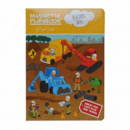 Tiger Tribe Magnetic Play Book Building Site