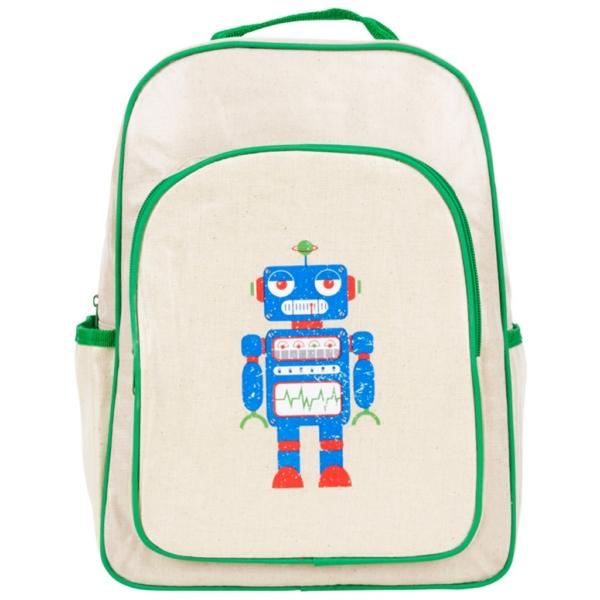 8c7a33191b Product Description. The Apple   Mint Robot Big Kid Backpack ...