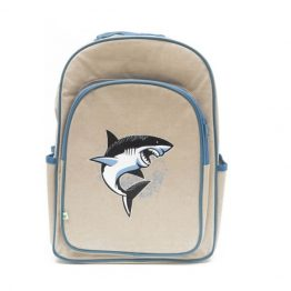 Apple & Mint Shark Big Kid Backpack