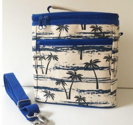 Apple & Mint Palm Tree Cooler Bag
