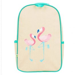 Apple & Mint Flamingo Little Kid Backpack