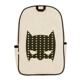 Apple & Mint Superhero Yellow Little Kid Backpack